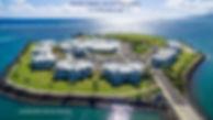 Ariel 2 aerial view of Taumeasina Island