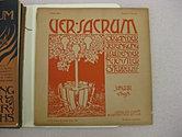 Ver Sacrum Journals
