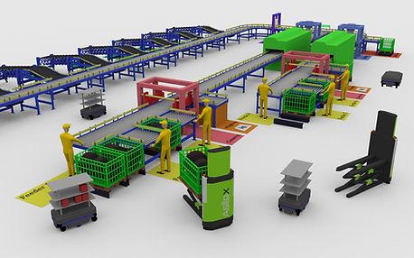 Ipar4.0 Intralogisztika konzultáció robotcenter