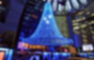Weihnachtsbeleuchtung Shopping Center/Einkaufszentrum