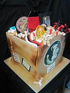 graduation going to FSU cake