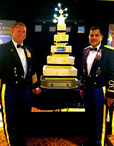 238th Army Ball Cake