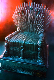 Iron Throne Cake