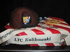 Army LTC cake