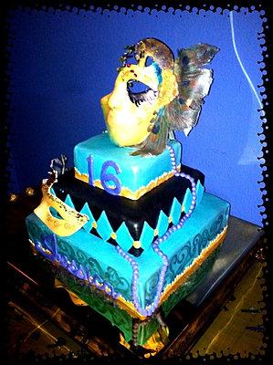 Masquerade cake