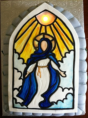 Assumption of Mary Cake
