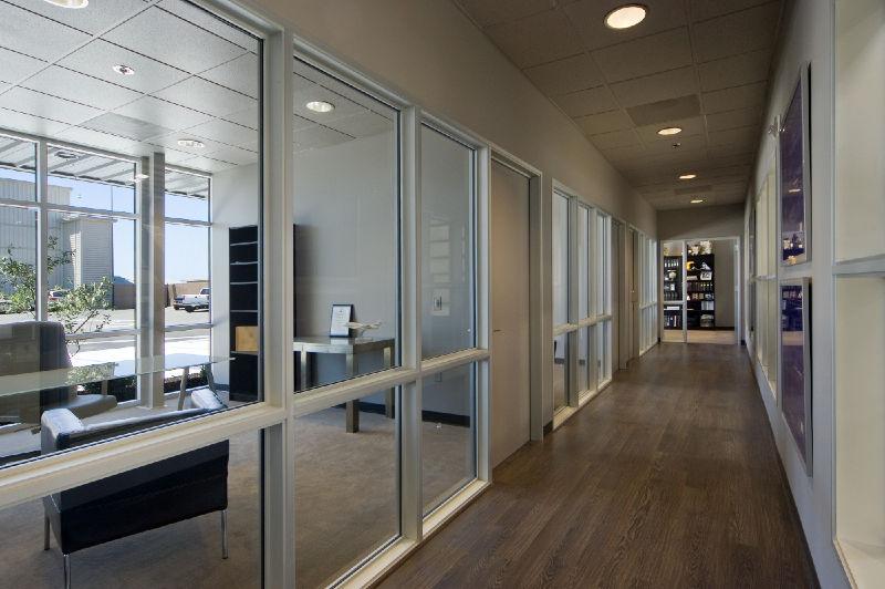 interior storefront doors