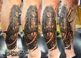 Luiz Royo Tattoo