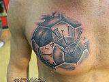 Soccer ball timepiece