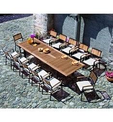 tavoli da giardino e sedie