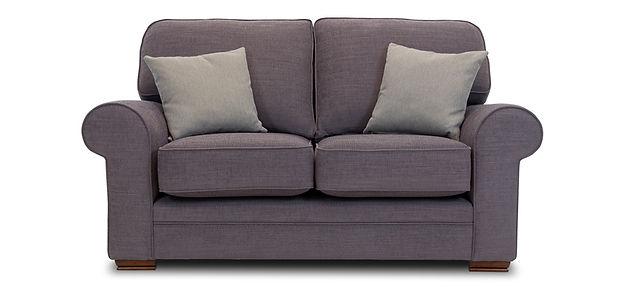 on a sofa table