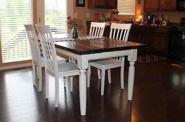 White Hearth Carpentry | Farmhouse Tables in Kansas City | Distressed ...