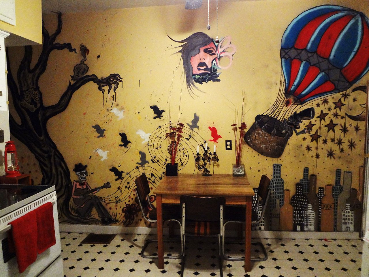 Kitchen Mural Duckyduke Design Art Design Murals Furniture Re Finishing