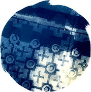 Gallo_11, _Cyanotype_on_Paper_7x7_Laurey