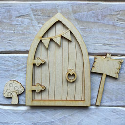 The wooden shape company laser cut mdf dream catchers for Fairy door shapes