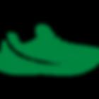 running-shoe green.png