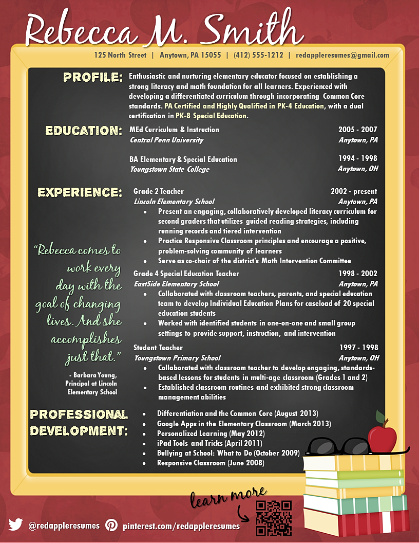 creative resume ideas for teachers DriverLayer
