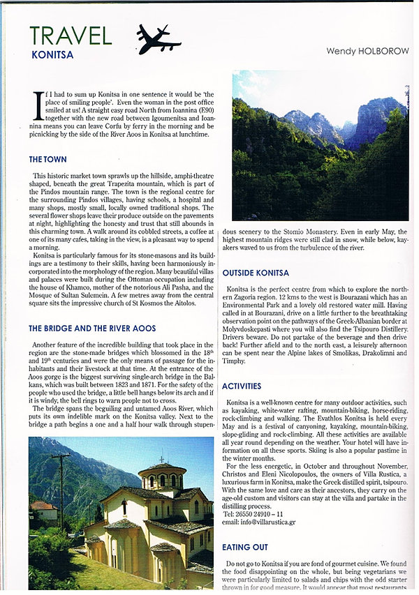 writing travel articles