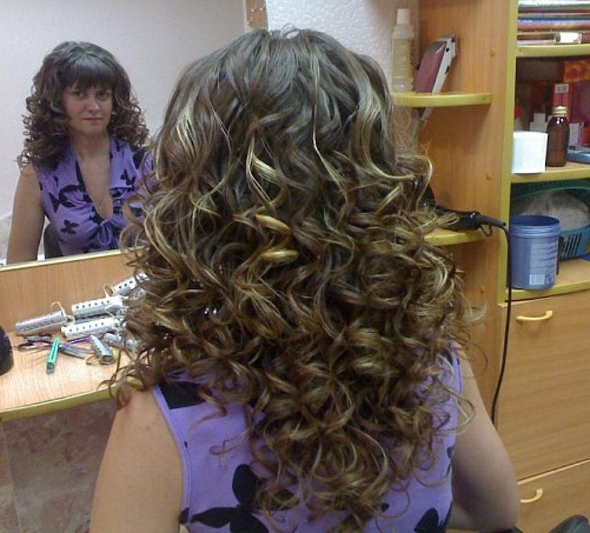 Стружка причёска