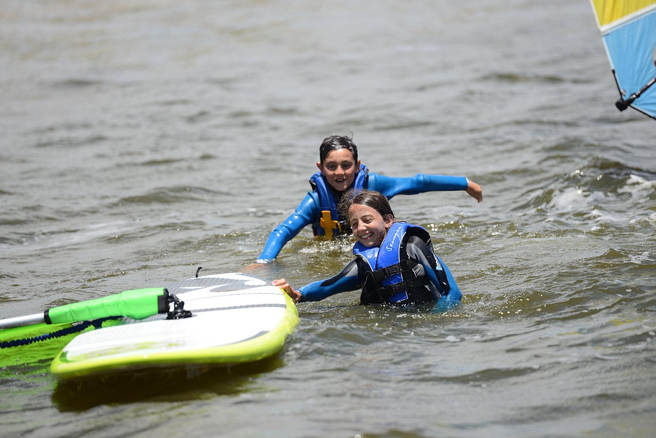 Learning to Windsurf • HST Windsurfing & Kitesurfing School