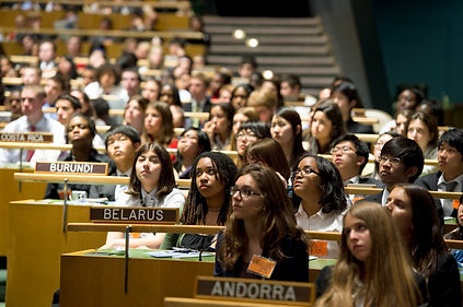 Model UN Students at General Assemby.jpg