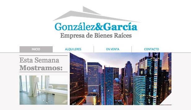 Sitio de bienes raíces
