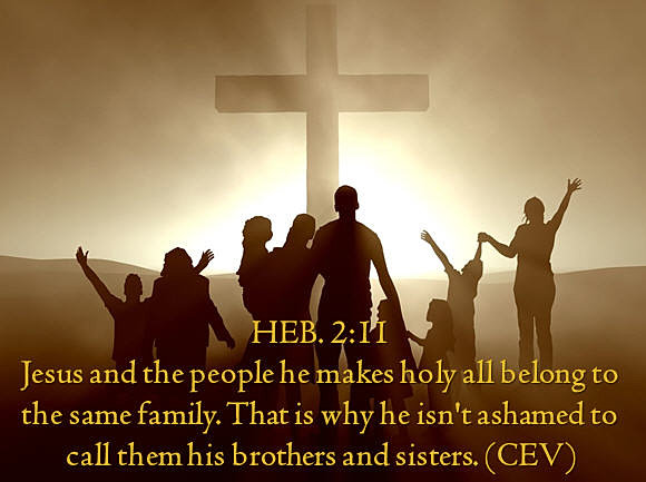 Image result for Hebrews 2:11