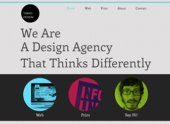 Design Agency Template - Funky yet polished, this free website template gives your creative company a professional edge. Upload images and add descriptions to build an online portfolio that shows off your work. Personalize the content, layout, and colors of this template to express your own aesthetic vision.