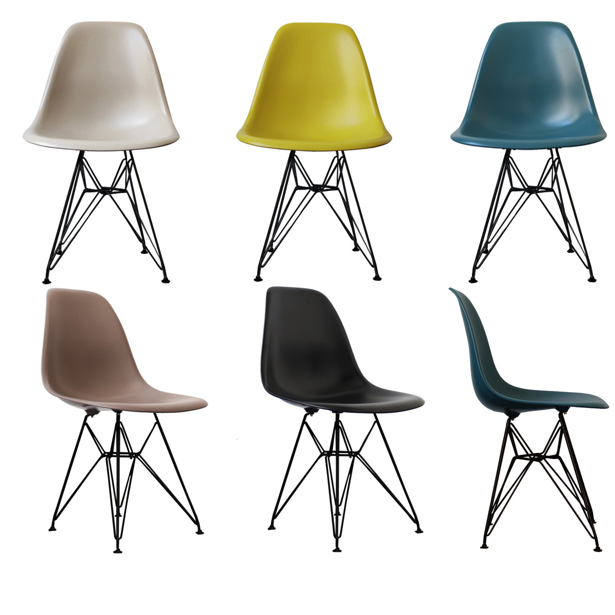 eames style dining chair stunning dining chair or side chair