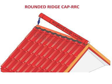 ROUNDED RIDGE CAP