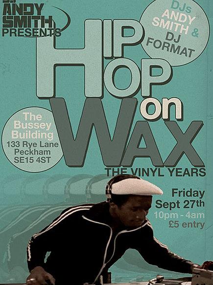 Hip Hop On Wax Fri Sep 27