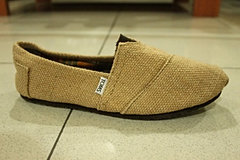 Natural Burlap Men's Classics  Natur