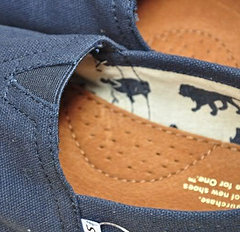 Navy Canvas Men's Classics Navy Canv