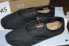 Black Canvas Women's Cordones