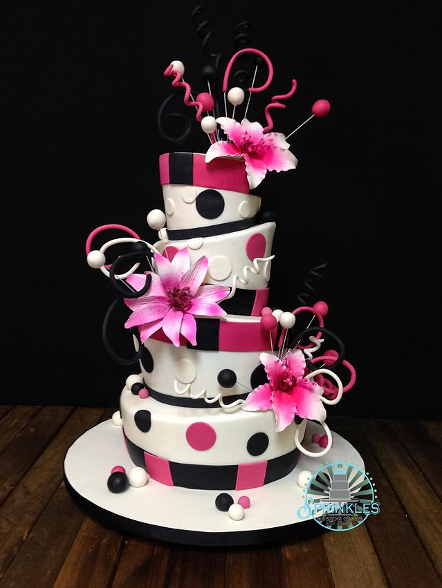 Custom Cakes in Orlando by Sprinkles