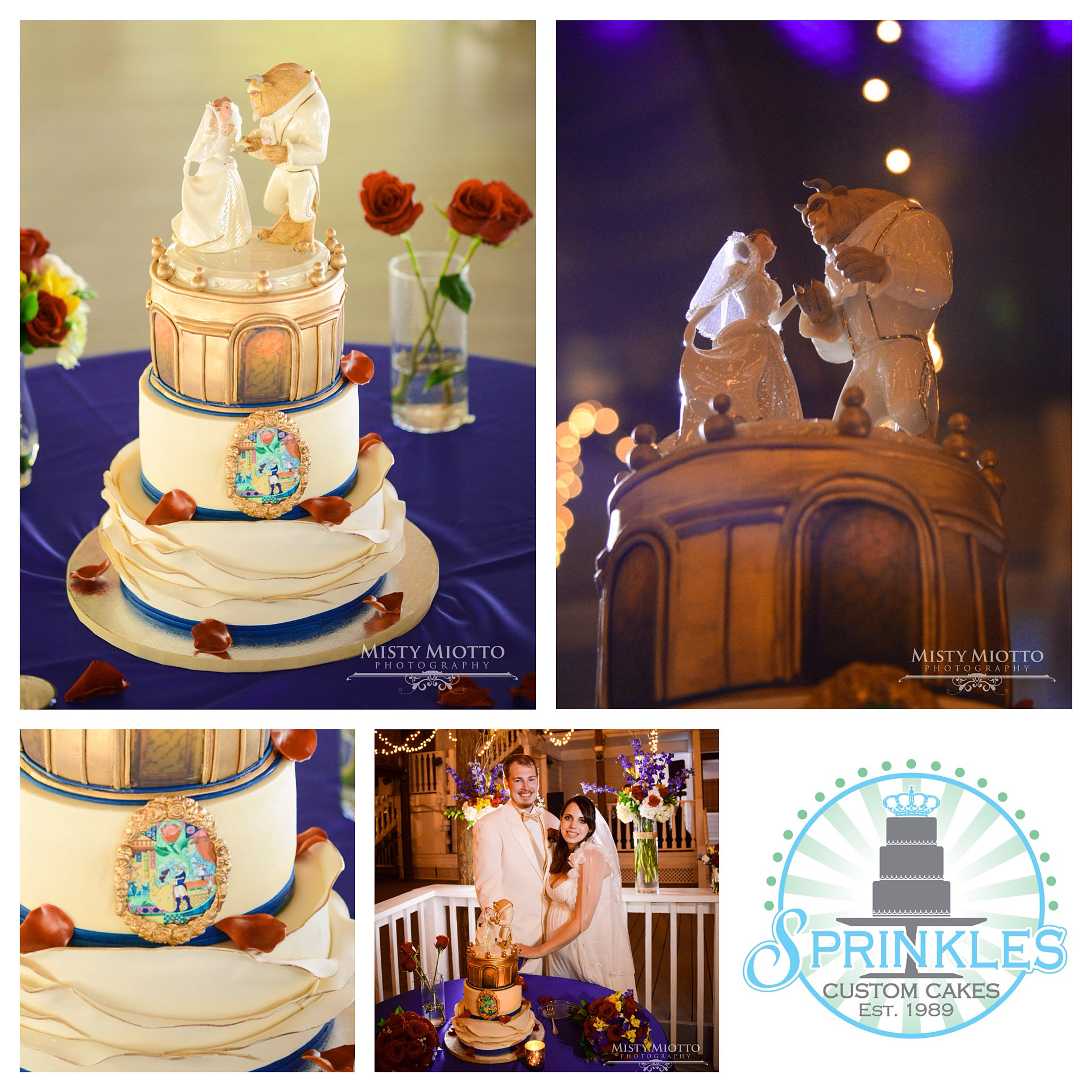 baby shower cakes orlando fl sprinkles custo beauty and the beast