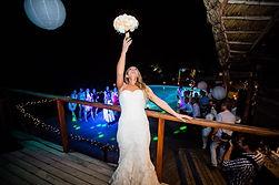 Bouquet toss Pulse DJs wedding DJs