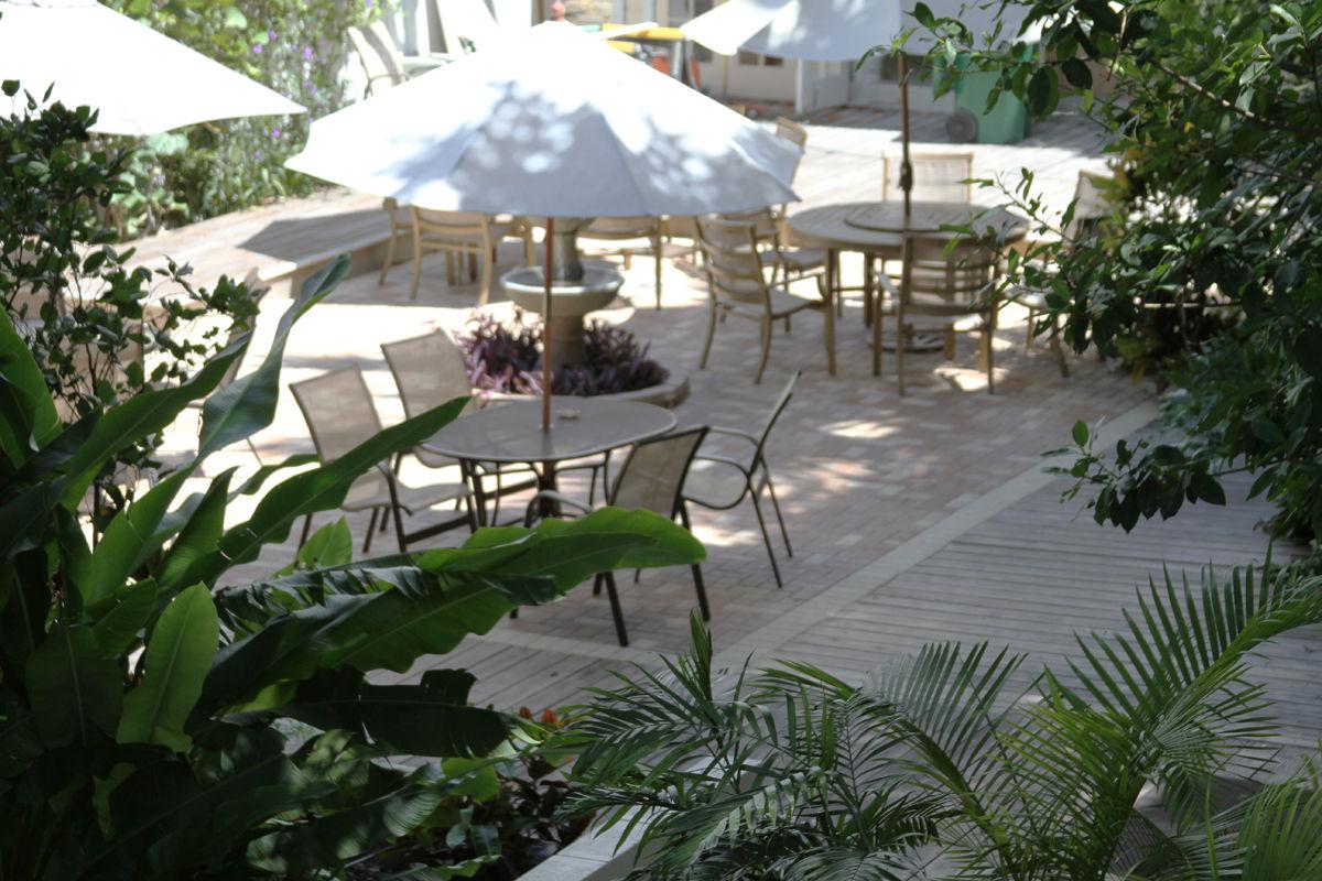 Duval House Courtyard