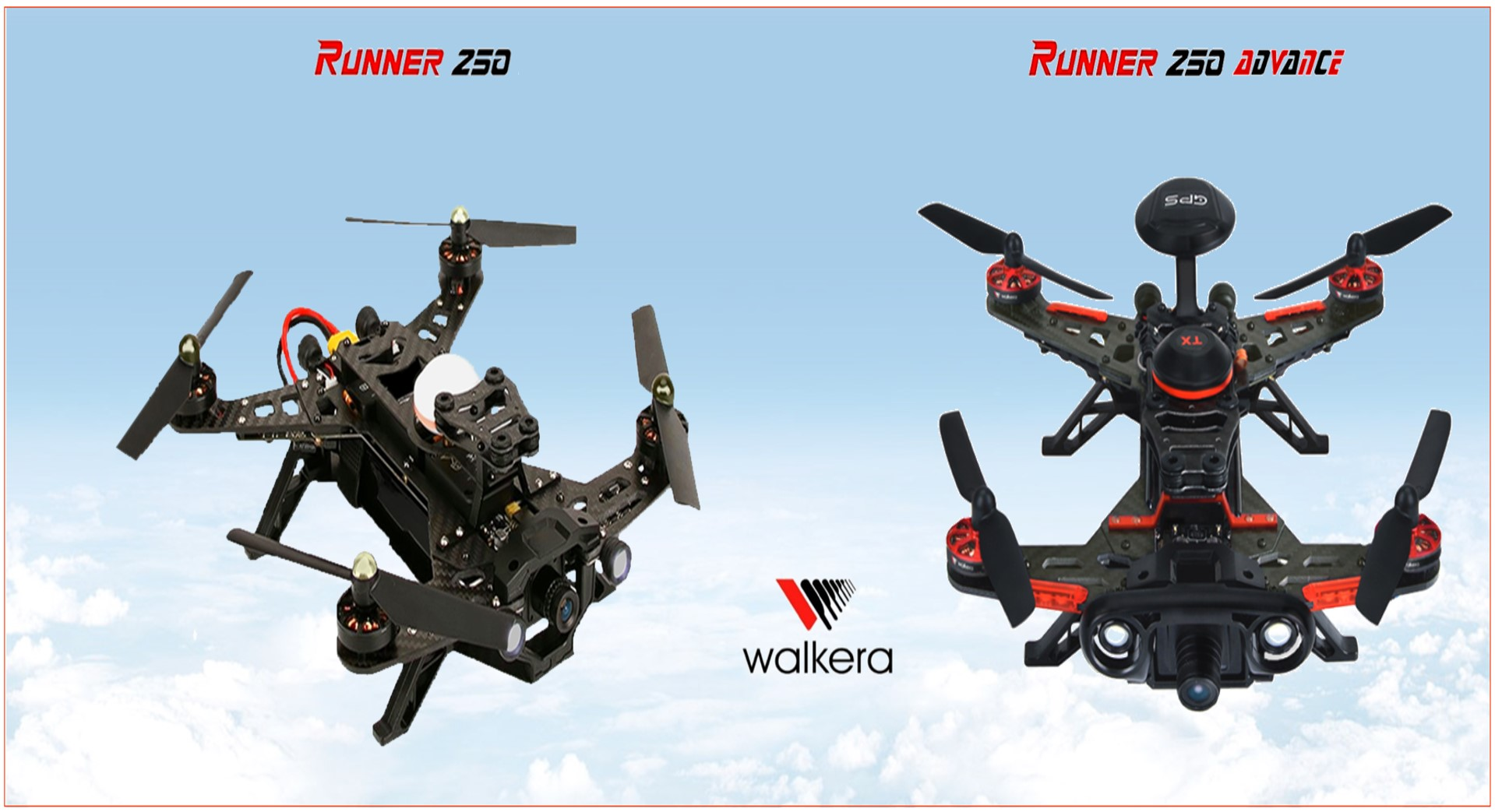 Walkera Runner 250 Frame and Battery Tray Integrated and Stronger Yellow
