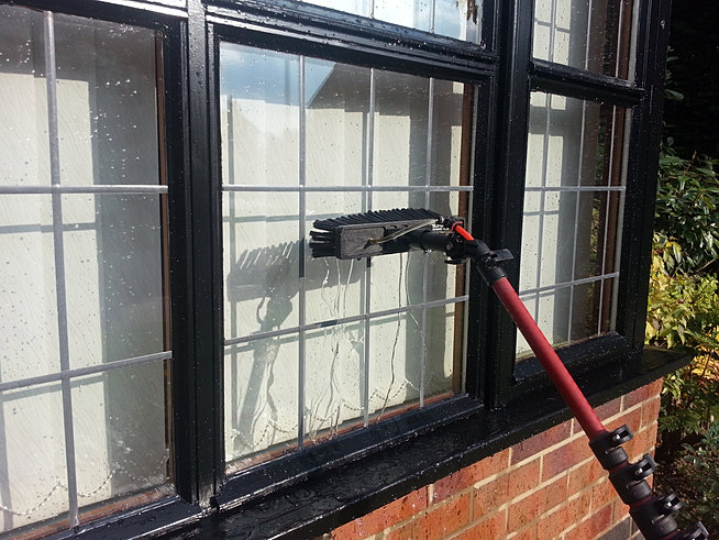 Pure Water Window Cleaning Affordable All Year Round