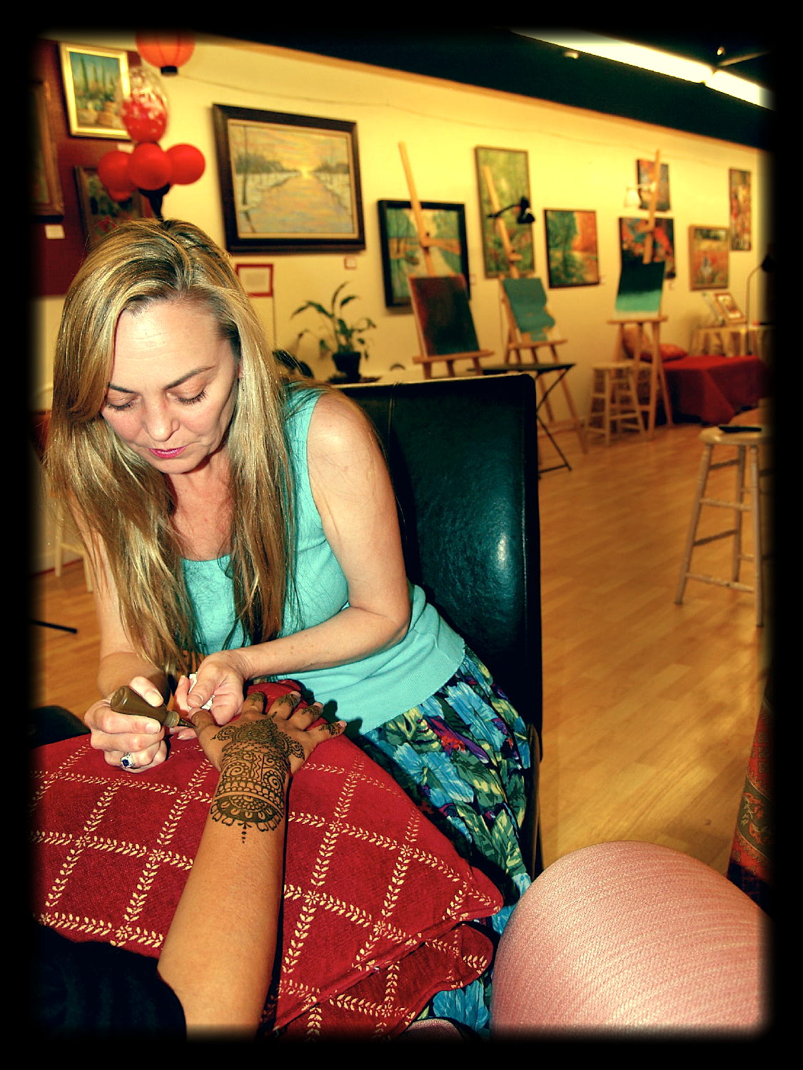 Henna Party Los Angeles : The art parlor studio gallery by party henna los