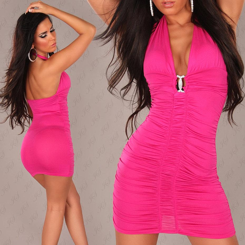 eeNeck-Mini-dress_with_rhinestonebuckle__Color_FUCHSIA_Size_Onesize_0000KV47_PIN