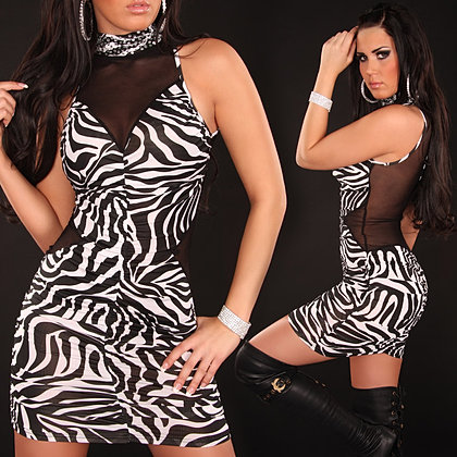 eeNeck-Minidress_riffled_with_transparent_piece__Color_ZEBRA_Size_Onesize_0000K3