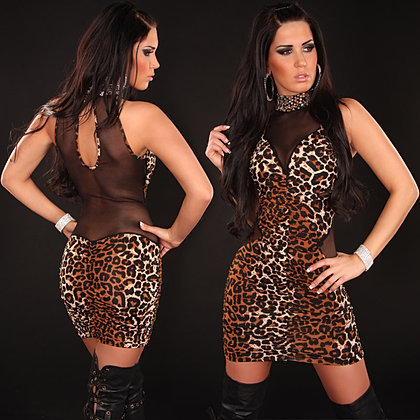 eeNeck-Minidress_riffled_with_transparent_piece__Color_LEO_Size_Onesize_0000K394