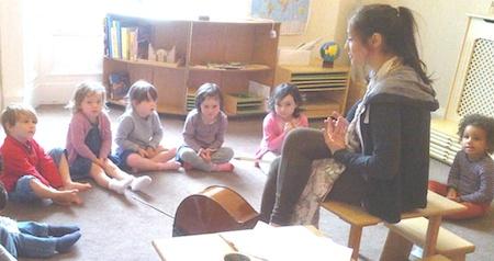 Greenhill Montessori Nursery Spanish Guide Edinburgh Private Day Care