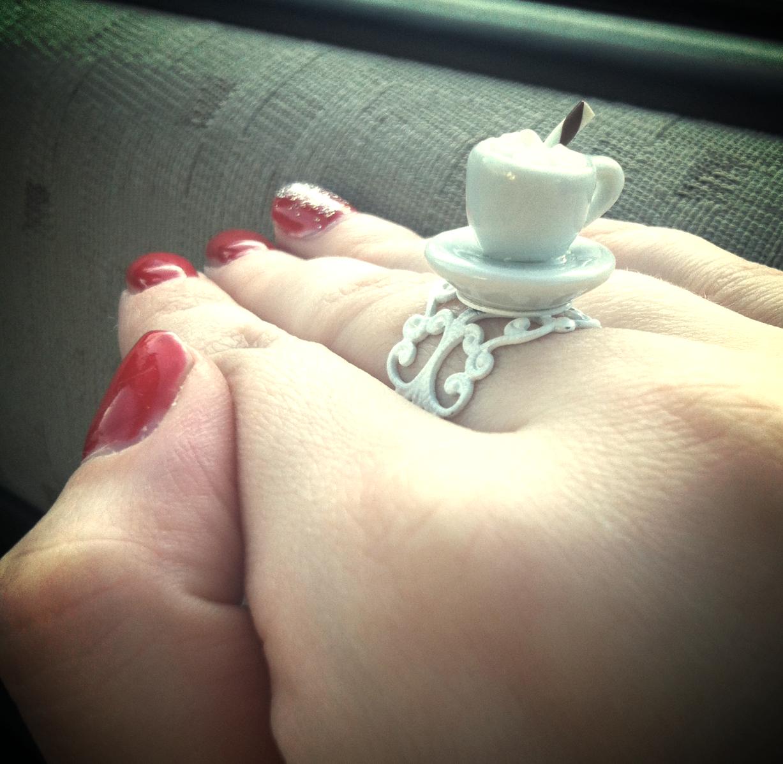 Miniature Latte Ring