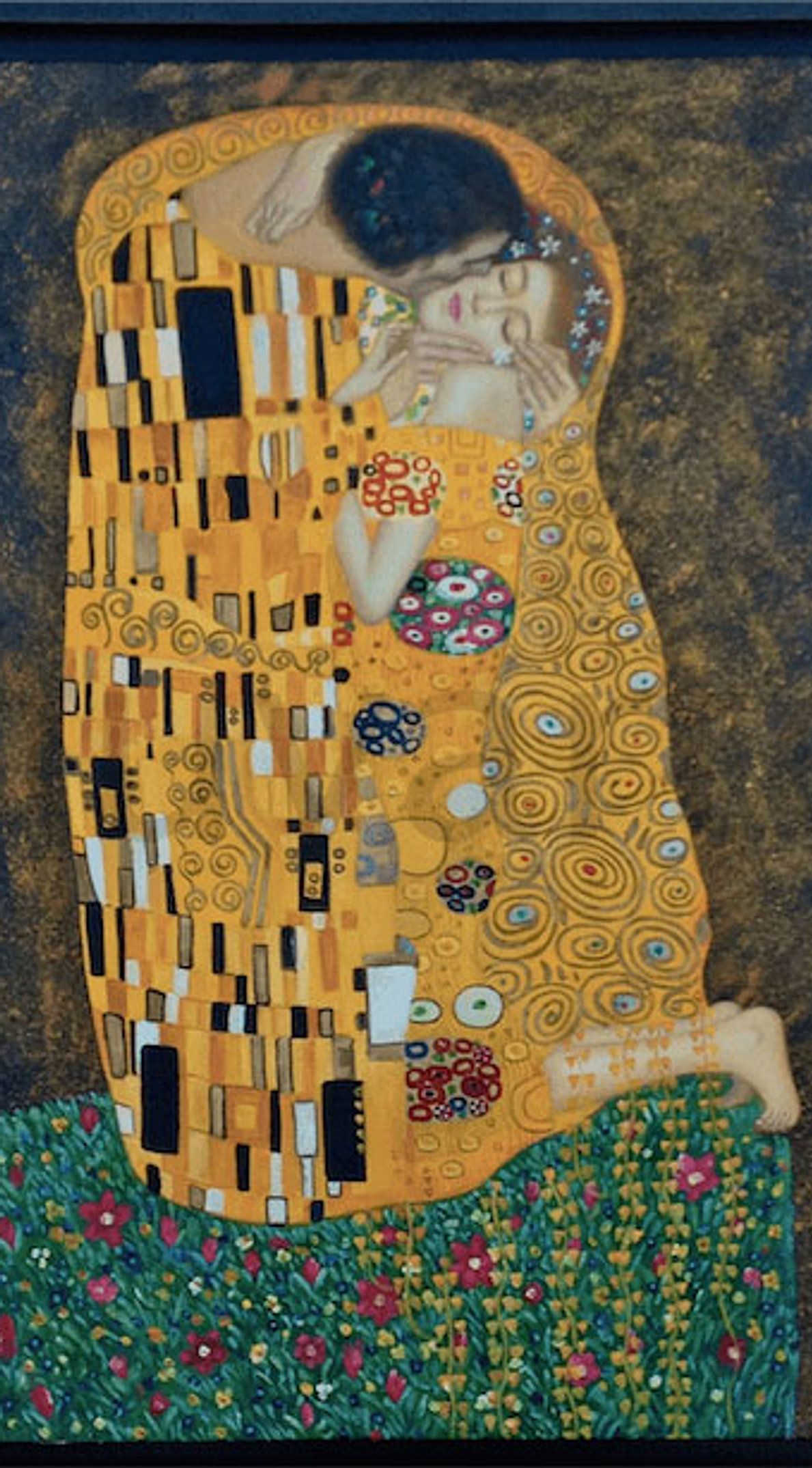 El Beso - Gustav Klimt