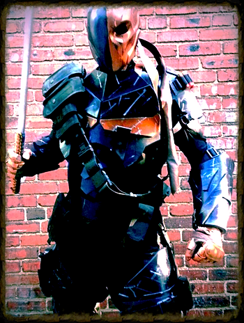 Arkham Origins Deathstroke cosplay costume