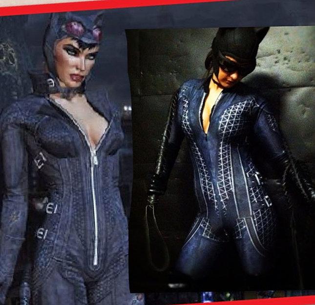Arkham City Catwoman Cosplay Costume
