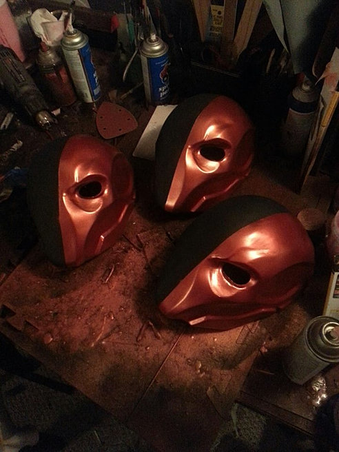Deathstroke Cosplay Helmets